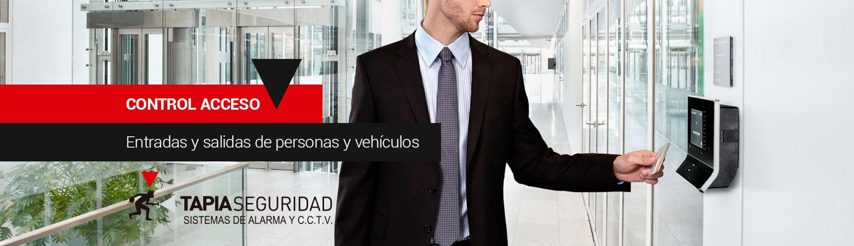 Controlar accesos de personas y vehículos