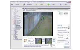 monitor cámara de seguridad