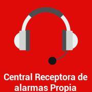 Central receptora de alarmas propia